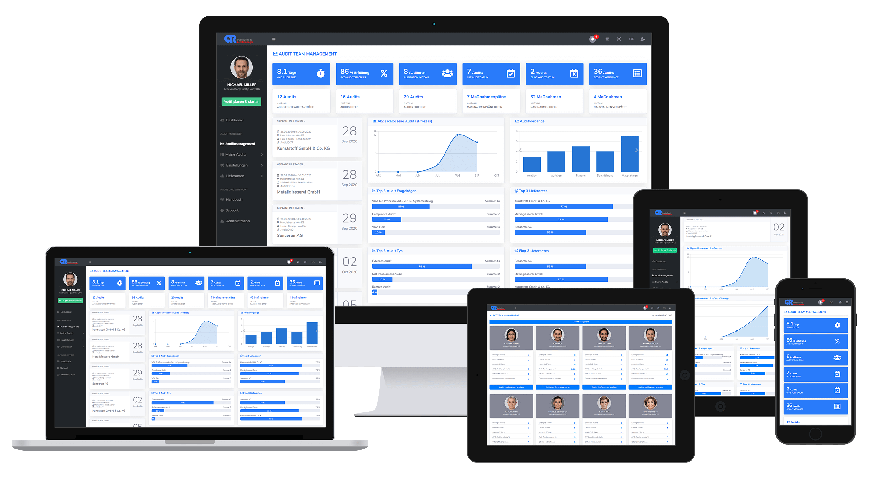 Audit-Manager-Dashboard